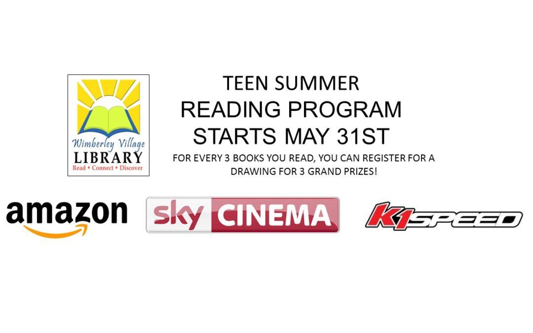 TEEN SUMMER READING PROGRAM