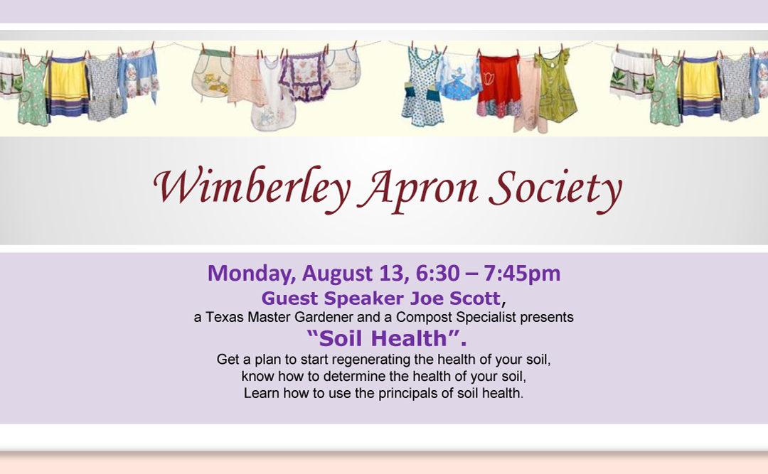 Wimberley Apron Society