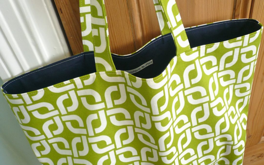 Mom's Night: Hand sewing tote bags