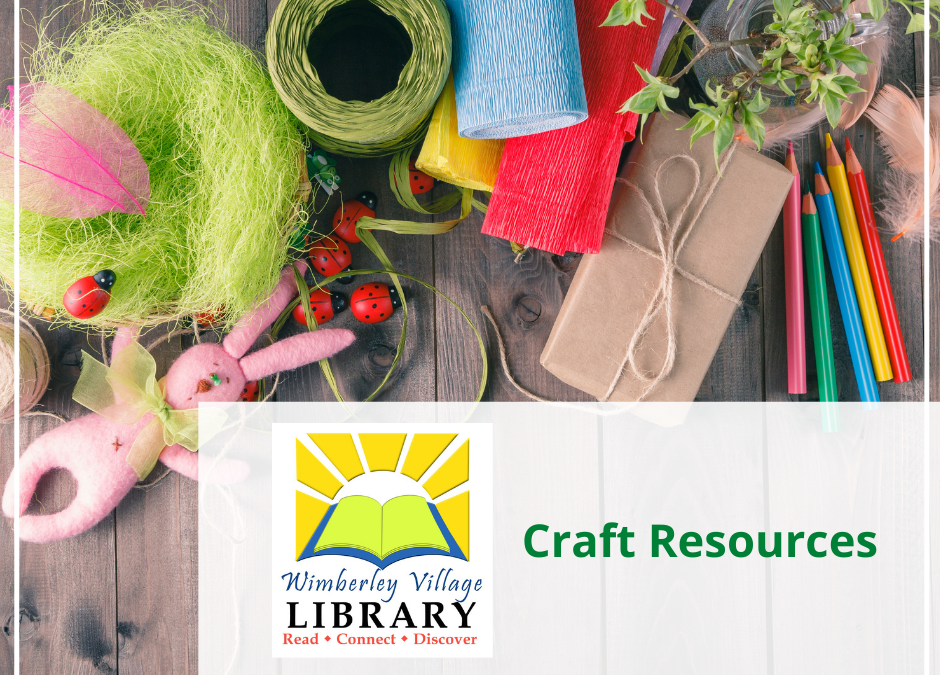 Finding Craft Resources at the Library